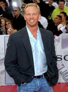Ian Ziering arrives at the premiere of This Is It movie on October 27th 2009