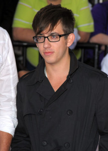 Kevin McHale arrives at the premiere of This Is It movie on October 27th 2009