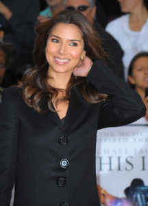 Roselyn Sanchez arrives at the premiere of This Is It movie on October 27th 2009