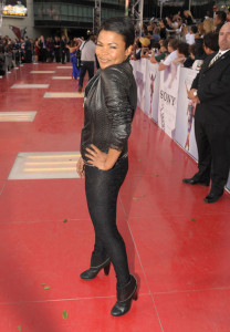 Nia Long arrives at the premiere of This Is It movie on October 27th 2009