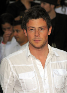 Cory Monteith arrives at the premiere of This Is It movie on October 27th 2009