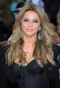 Julianne Hough arrives at the premiere of This Is It movie on October 27th 2009