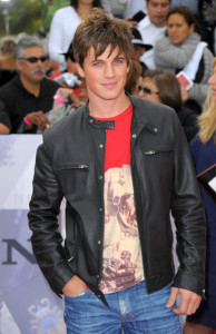 Matt Lanter arrives at the premiere of This Is It movie on October 27th 2009
