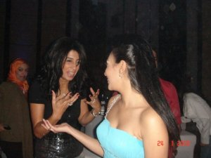 Picture of Mirhan Hussein at her 27th birthday party in October 2009 11