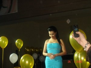 Picture of Mirhan Hussein at her 27th birthday party in October 2009 13