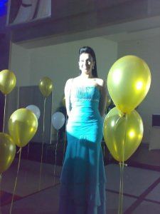 Picture of Mirhan Hussein at her 27th birthday party in October 2009 12