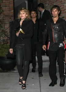 jesus luz spotted with Madonna at the party of the DVD release of designer Valentino at the Standard Hotel in New York on November 3rd 2009 3