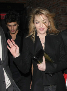 jesus luz spotted with Madonna at the party of the DVD release of designer Valentino at the Standard Hotel in New York on November 3rd 2009 5