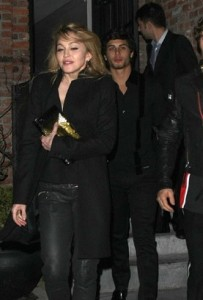jesus luz spotted with Madonna at the party of the DVD release of designer Valentino at the Standard Hotel in New York on November 3rd 2009 4