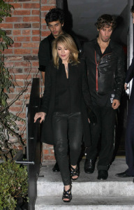 jesus luz spotted with Madonna at the party of the DVD release of designer Valentino at the Standard Hotel in New York on November 3rd 2009 6