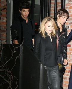 jesus luz spotted with Madonna at the party of the DVD release of designer Valentino at the Standard Hotel in New York on November 3rd 2009 7