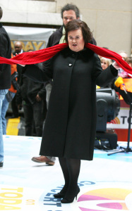 Susan Boyle performs live on the Today Shows Concert Series on November 23rd 2009 6