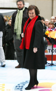 Susan Boyle performs live on the Today Shows Concert Series on November 23rd 2009 7