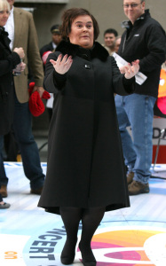 Susan Boyle performs live on the Today Shows Concert Series on November 23rd 2009 3