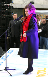 Susan Boyle performs live on the Today Shows Concert Series on November 23rd 2009 1