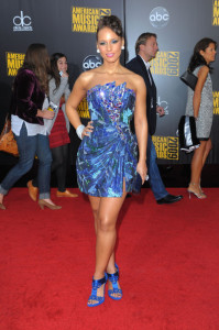 Alicia Keys arrives at the 2009 American Music Awards at the Nokia Theatre LA Live in Los Angeles California on November 22nd 2009 3