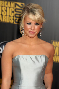 Chelsea Hightower arrives at the 2009 American Music Awards at the Nokia Theatre LA Live in Los Angeles California on November 22nd 2009 2