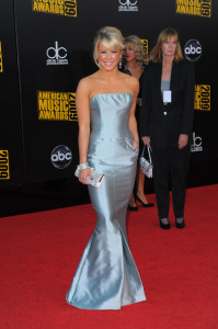Chelsea Hightower arrives at the 2009 American Music Awards at the Nokia Theatre LA Live in Los Angeles California on November 22nd 2009 5