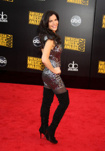 Lauren Sanchez arrives at the 2009 American Music Awards at the Nokia Theatre LA Live in Los Angeles California on November 22nd 2009 1