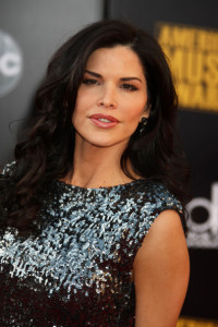 Lauren Sanchez arrives at the 2009 American Music Awards at the Nokia Theatre LA Live in Los Angeles California on November 22nd 2009 2
