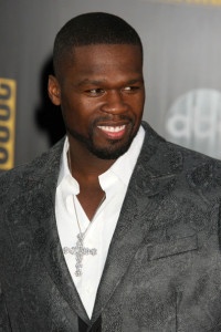 50 Cent arrives at the 2009 American Music Awards at the Nokia Theatre LA Live in Los Angeles California on November 22nd 2009 2