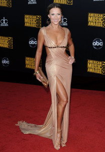 Edyta Sliwinska arrives at the 2009 American Music Awards at the Nokia Theatre LA Live in Los Angeles California on November 22nd 2009 5