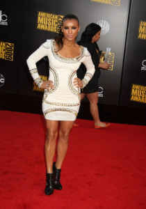 Melody Thornton arrives at the 2009 American Music Awards at the Nokia Theatre LA Live in Los Angeles California on November 22nd 2009 3
