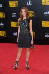 Taryn Southern arrives at the 2009 American Music Awards at the Nokia Theatre LA Live in Los Angeles California on November 22nd 2009 5