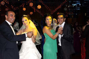 Mirhan Hussein picture at the wedding of her brother 4