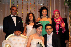 Mirhan Hussein picture at the wedding of her brother 1