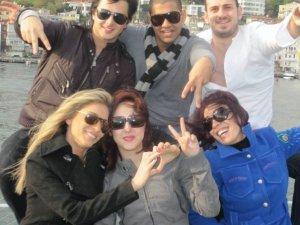picture of Cynthia Karam, Nader Quirat, Basma Bousiel, Ibrahim Dashti and Nazem Ezzideen from their visit to Turkey