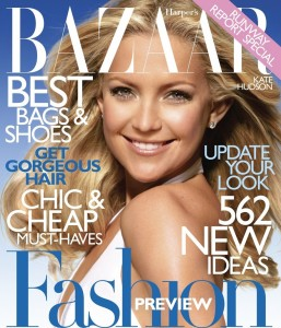 Kate Hudson photo shoot for the January 2010  issue of Harpers Bazaar Magazine 3