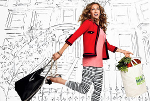 Sarah Jessica Parker photo shoot for the January 2010 issue of Glamour Magazine 1