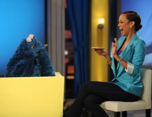 Tyra Banks picture from a recent episode of The Tyra Show with Sesame Street on December 3rd 2009 3