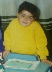 Saad Ramadan Child Hood Picture