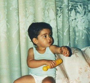 Saad Ramadan picture as a baby