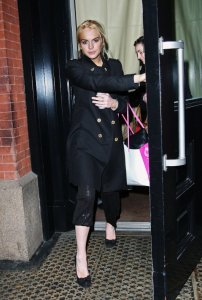 Lindsay Lohan picture as she was spotted shopping at Intermix in New York City on December 28th  2009 2