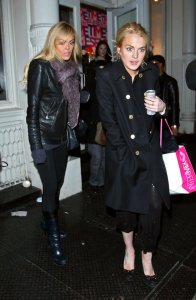 Lindsay Lohan picture as she was spotted shopping at Intermix in New York City on December 28th  2009 1