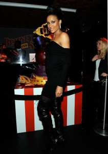Ciara photo at Britney Spears Birthday Party in New York City on December 2th 2009 1