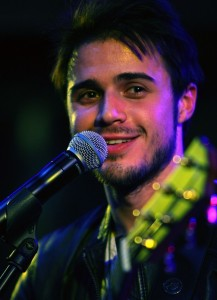Kris Allen photo as she performs at BB Kings Blues Club at the Mirage Resort Hotel Casino in Las Vegas on December 30th 2009 6