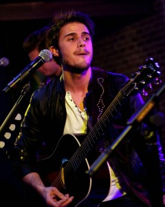 Kris Allen photo as she performs at BB Kings Blues Club at the Mirage Resort Hotel Casino in Las Vegas on December 30th 2009 2