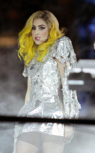 Lady GaGa picture from her concert at the Fontainbleau Hotel in Miami Beach on New Years Eve on December 31st 2009 4