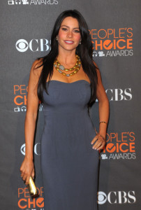 Sofia Vergara attends the Peoples Choice Awards 2010 held at Nokia Theatre on January 6th 2010 in Los Angeles 10