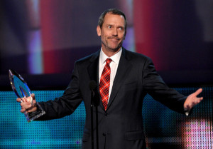 Hugh Laurie at the Peoples Choice Awards 2010 held at Nokia Theatre on January 6th 2010 in Los Angeles 6