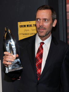 Hugh Laurie at the Peoples Choice Awards 2010 held at Nokia Theatre on January 6th 2010 in Los Angeles 2