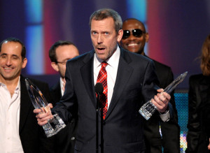 Hugh Laurie at the Peoples Choice Awards 2010 held at Nokia Theatre on January 6th 2010 in Los Angeles 5