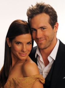 Sandra Bullock and Ryan Reynolds portrait for Best Comedy Movie during the Peoples Choice Awards on January 6th 2010 in Los Angeles 3