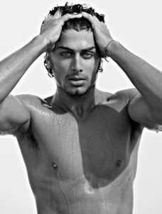 Jesus Luz recent topless 2010 photo shoot 4