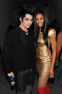 Adam Lambert and Ciara at the launch of VEVO at Skylight Studio on December 8th 2009 in New York City 1