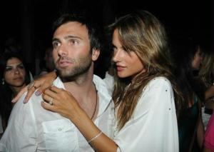 Alessandra Ambrosio picture from new year party on December 31st 2009 4